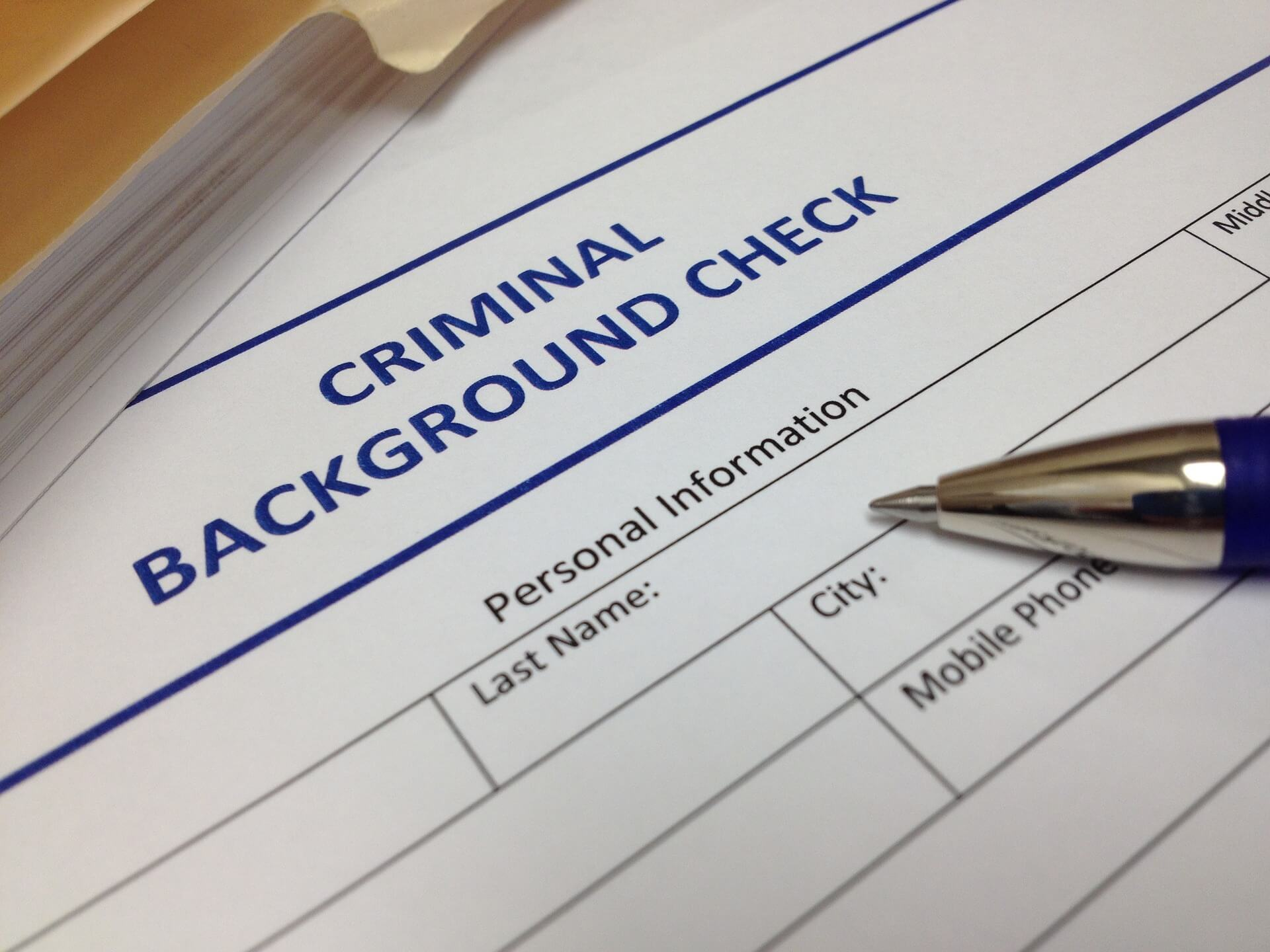 How to Check Your Criminal Record?