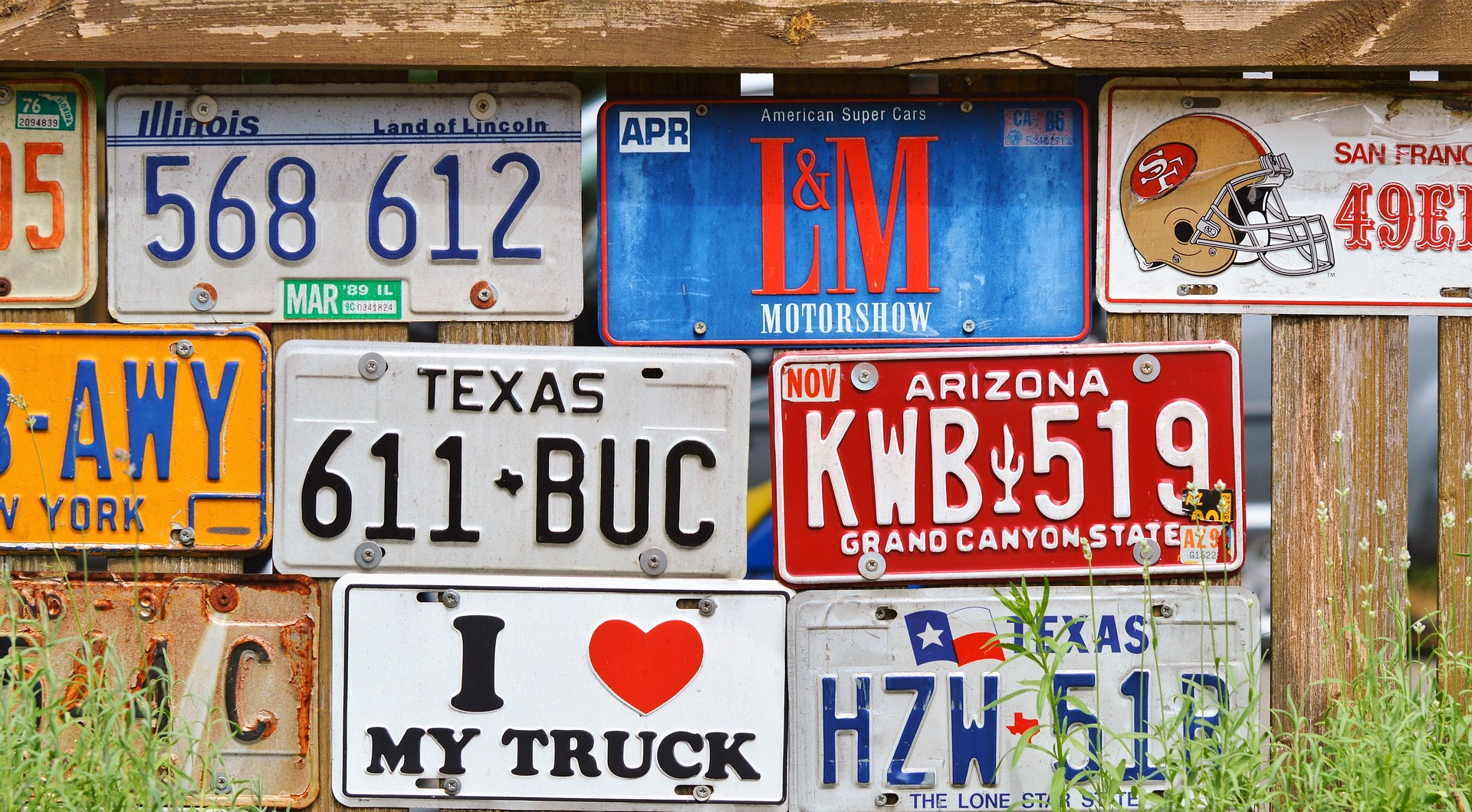 History of License plates